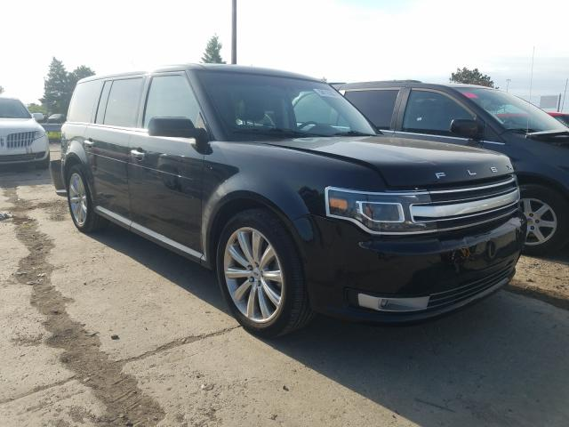 Ford Flex Limited salvage cars for sale: 2019 Ford Flex Limited