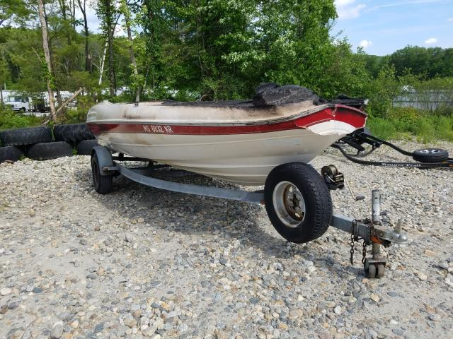 Bayliner salvage cars for sale: 1998 Bayliner Boat Trail