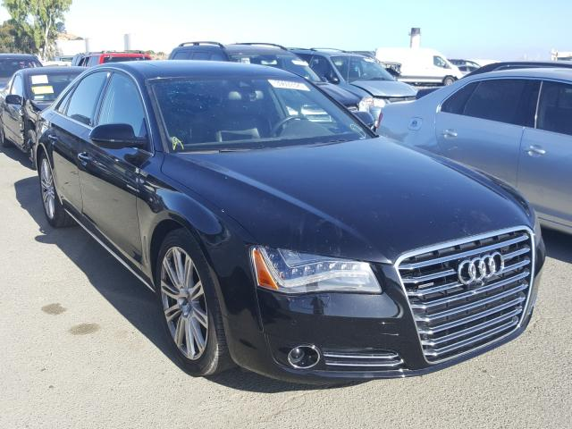 Salvage cars for sale from Copart Martinez, CA: 2014 Audi A8 Quattro