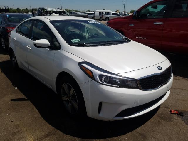 KIA Forte LX salvage cars for sale: 2018 KIA Forte LX