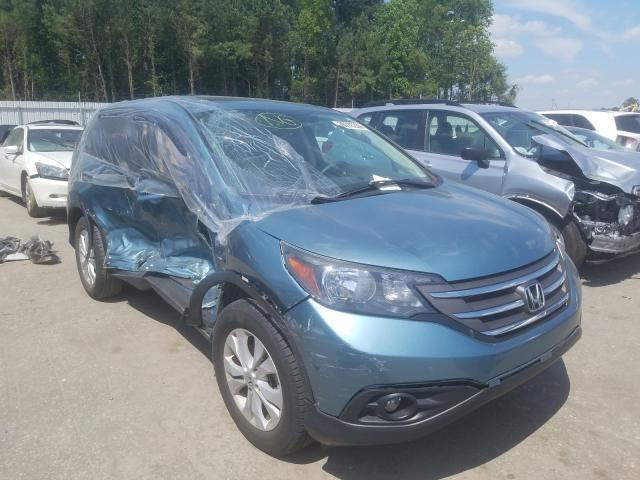 Salvage cars for sale from Copart Dunn, NC: 2014 Honda CR-V EX