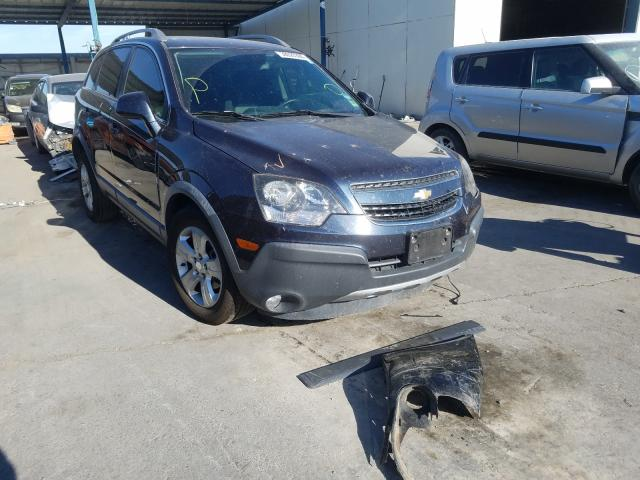 Salvage cars for sale from Copart Anthony, TX: 2015 Chevrolet Captiva LS