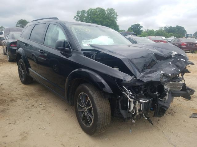 Vehiculos salvage en venta de Copart China Grove, NC: 2018 Dodge Journey SE