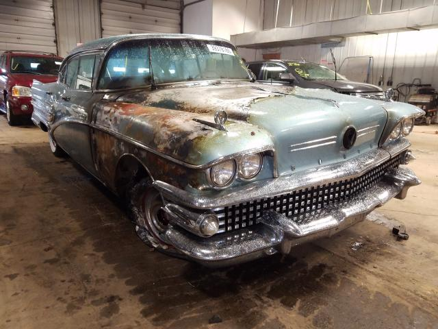 Buick Roadmaster salvage cars for sale: 1958 Buick Roadmaster