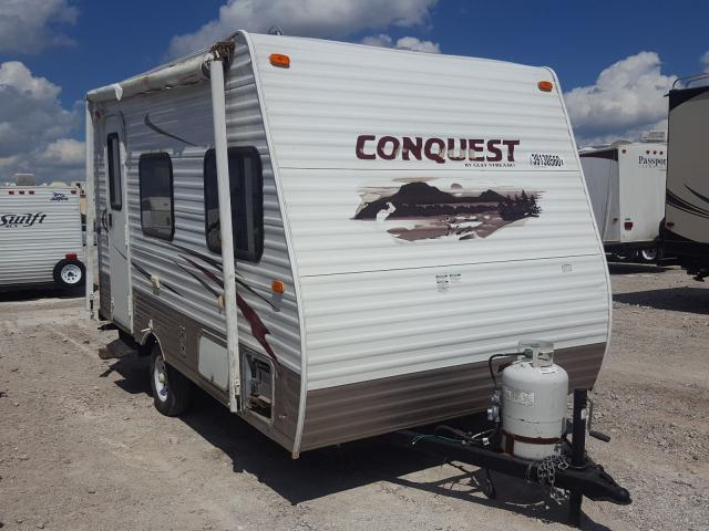 Gulf Stream Conquest salvage cars for sale: 2012 Gulf Stream Conquest