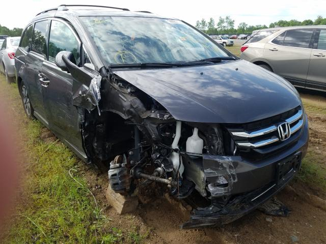 Honda Odyssey TO salvage cars for sale: 2015 Honda Odyssey TO