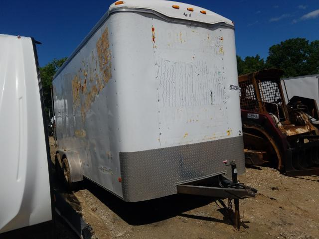Haulmark Trailer salvage cars for sale: 2011 Haulmark Trailer
