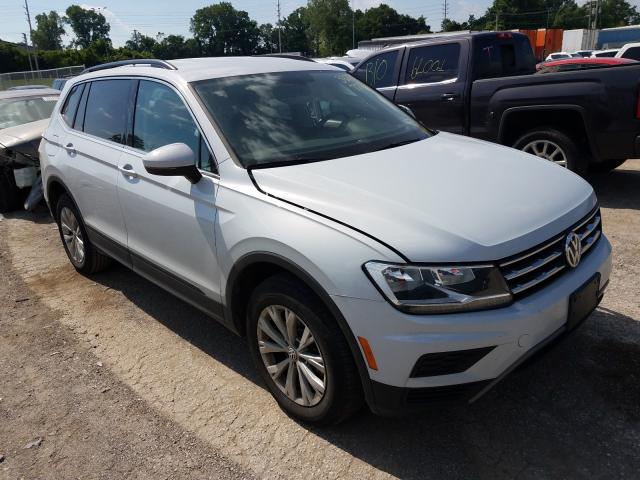 Salvage cars for sale from Copart Bridgeton, MO: 2019 Volkswagen Tiguan SE