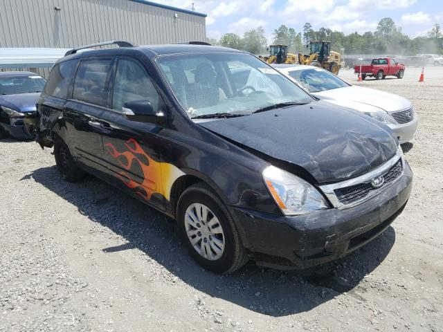 Salvage cars for sale from Copart Spartanburg, SC: 2012 KIA Sedona LX