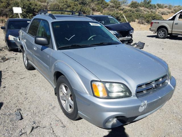 Subaru Baja salvage cars for sale: 2003 Subaru Baja