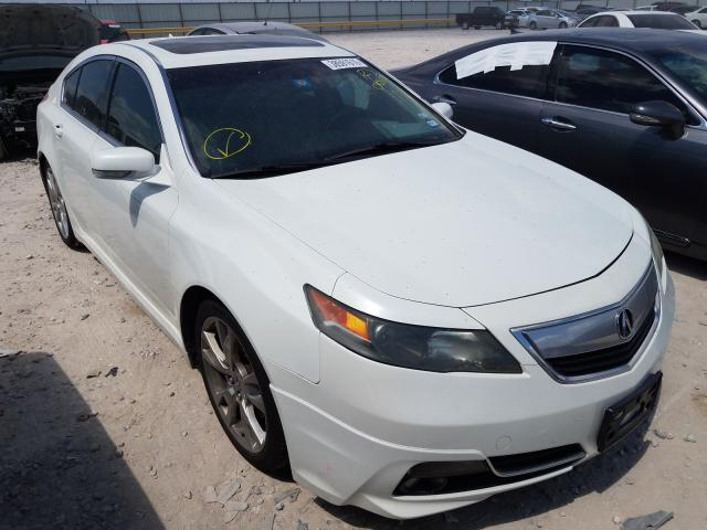 Salvage cars for sale from Copart Haslet, TX: 2012 Acura TL