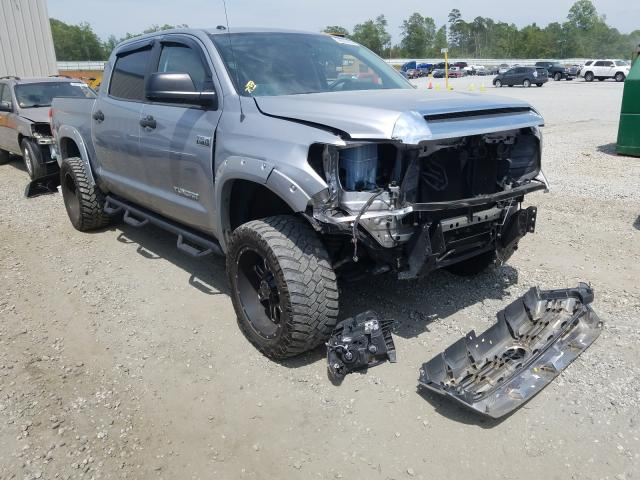 Toyota Tundra CRE salvage cars for sale: 2017 Toyota Tundra CRE