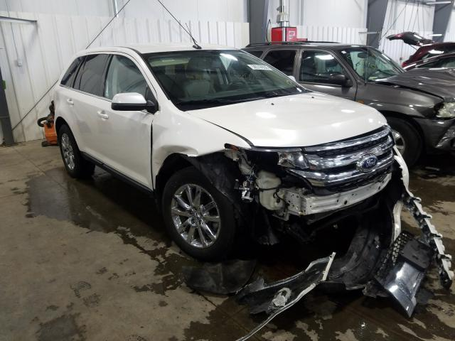 Salvage cars for sale from Copart Ham Lake, MN: 2011 Ford Edge Limited