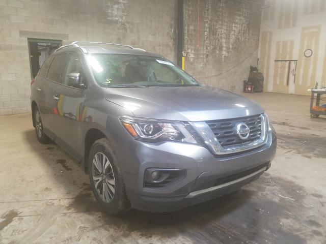 Nissan Pathfinder salvage cars for sale: 2018 Nissan Pathfinder
