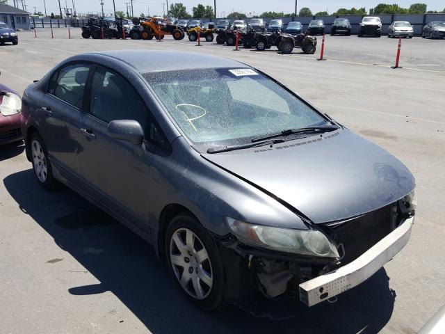 Honda Civic LX salvage cars for sale: 2010 Honda Civic LX