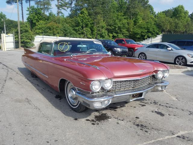Cadillac Series 62 salvage cars for sale: 1960 Cadillac Series 62