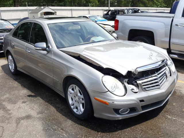 Mercedes-Benz salvage cars for sale: 2007 Mercedes-Benz E 320 CDI