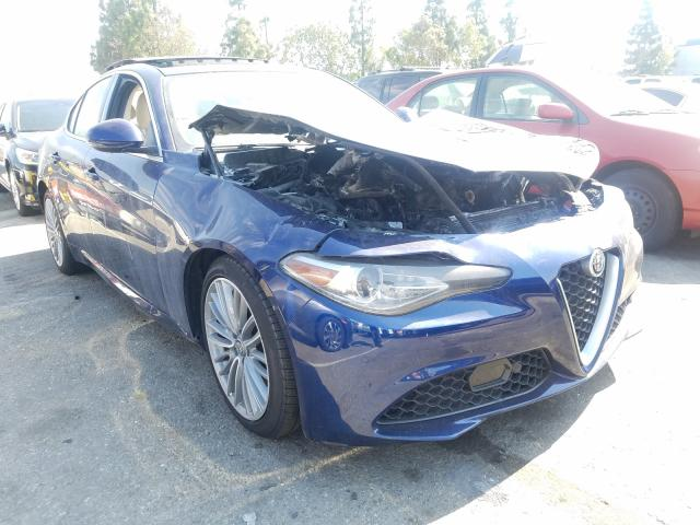 Alfa Romeo salvage cars for sale: 2017 Alfa Romeo Giulia TI