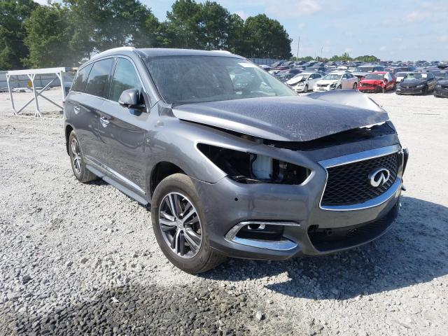 Infiniti QX60 salvage cars for sale: 2017 Infiniti QX60