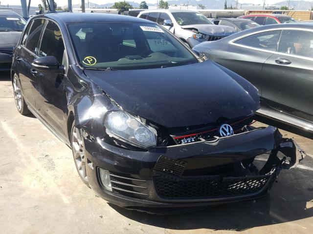 Volkswagen GTI salvage cars for sale: 2014 Volkswagen GTI