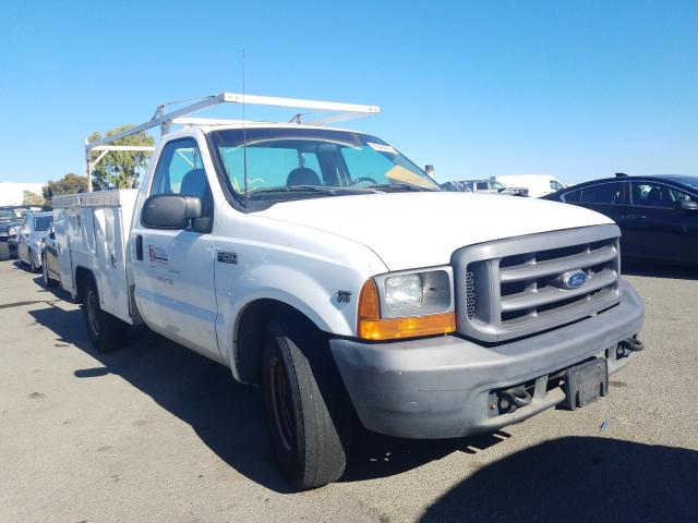 Salvage cars for sale from Copart Martinez, CA: 2000 Ford F250 Super