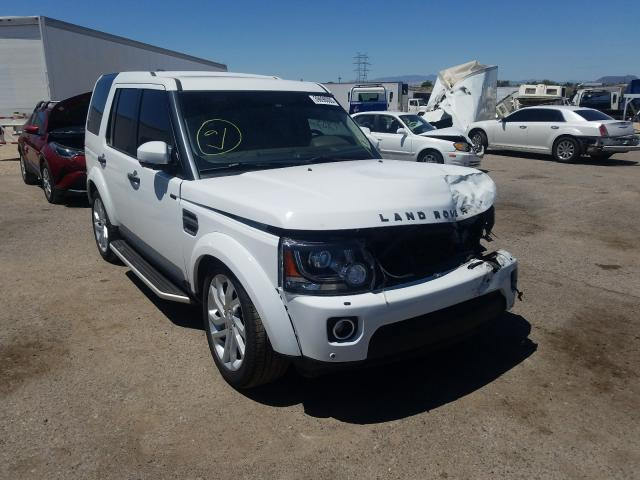 Land Rover salvage cars for sale: 2016 Land Rover LR4 HSE