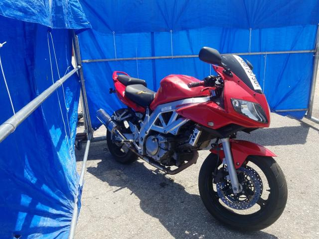 Suzuki SV650 salvage cars for sale: 2003 Suzuki SV650