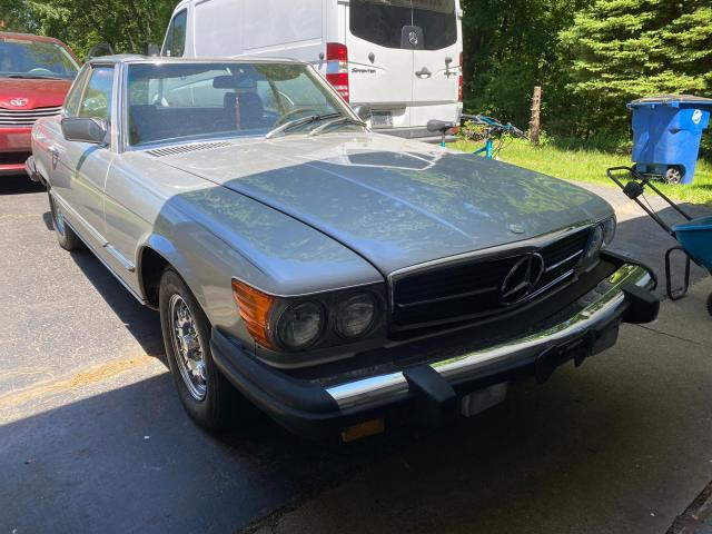 Mercedes-Benz salvage cars for sale: 1980 Mercedes-Benz 450 SL