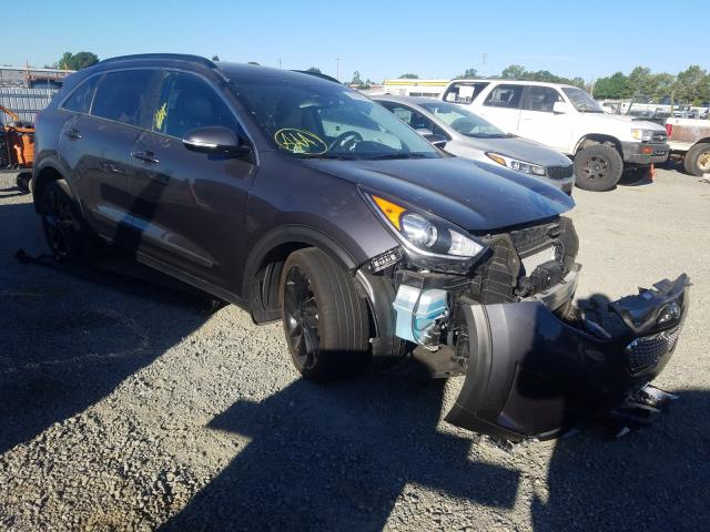 KIA Niro EX salvage cars for sale: 2018 KIA Niro EX