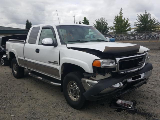 GMC Sierra K25 salvage cars for sale: 2002 GMC Sierra K25