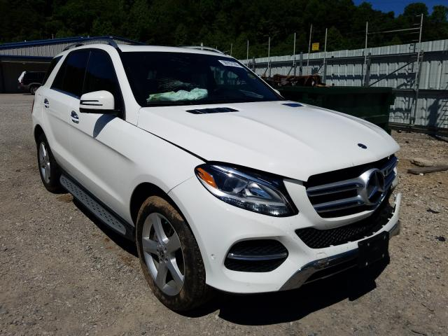Mercedes-Benz salvage cars for sale: 2018 Mercedes-Benz GLE 350 4M