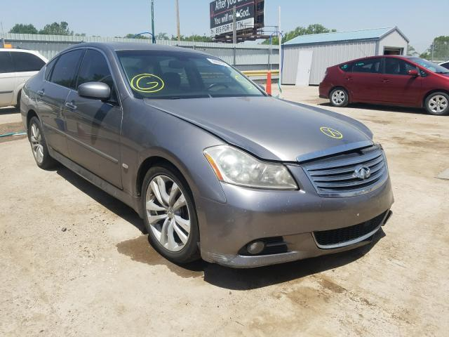 Salvage cars for sale from Copart Wichita, KS: 2008 Infiniti M35 Base