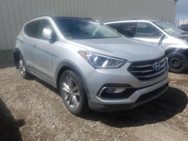 Hyundai salvage cars for sale: 2017 Hyundai Santa FE S