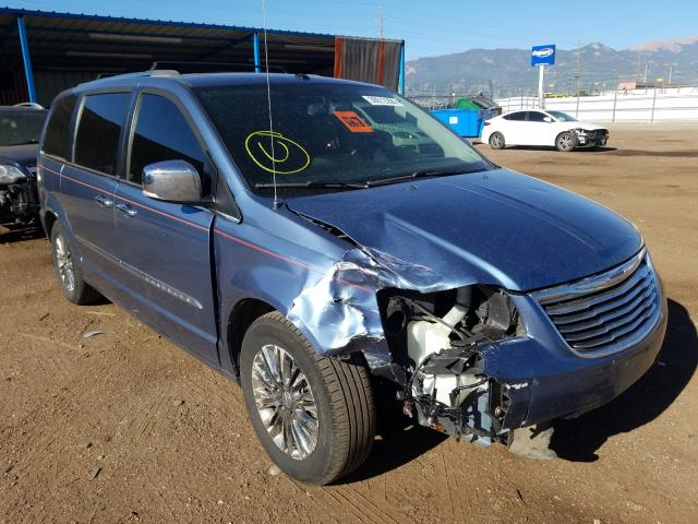 Chrysler salvage cars for sale: 2011 Chrysler Town & Country