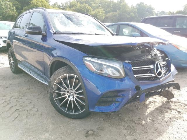 Mercedes-Benz GLC 300 salvage cars for sale: 2018 Mercedes-Benz GLC 300