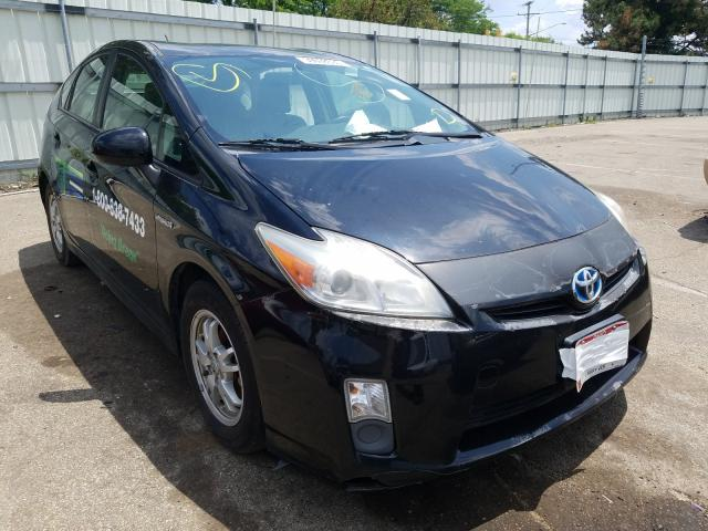 Salvage cars for sale from Copart Moraine, OH: 2010 Toyota Prius