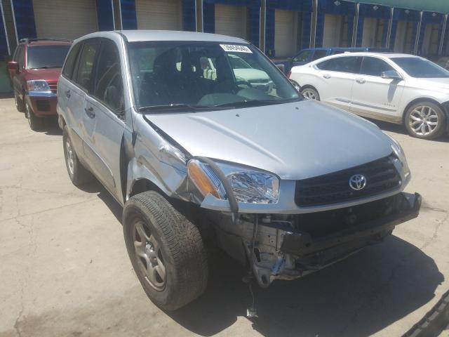Toyota Rav4 salvage cars for sale: 2003 Toyota Rav4