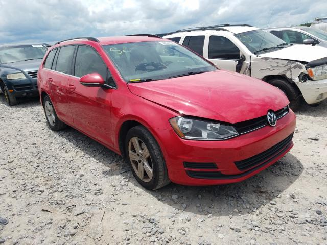 Salvage cars for sale from Copart Madisonville, TN: 2015 Volkswagen Golf Sport