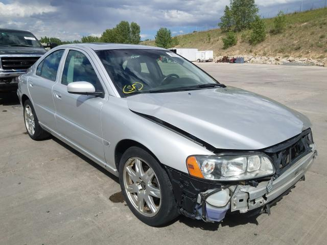 Volvo salvage cars for sale: 2005 Volvo S60 2.5T