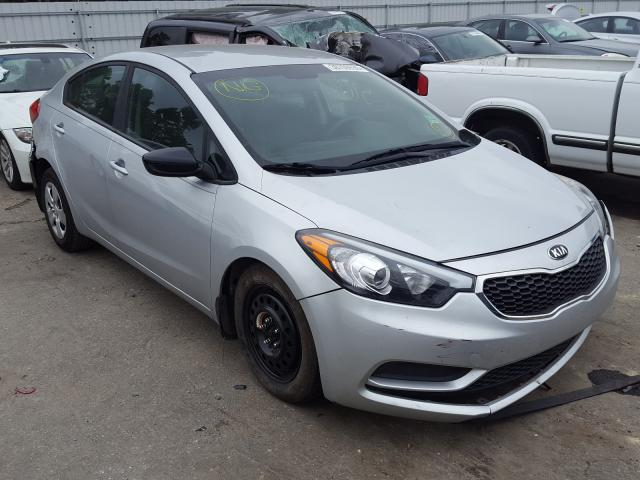 Salvage cars for sale from Copart Dunn, NC: 2016 KIA Forte LX