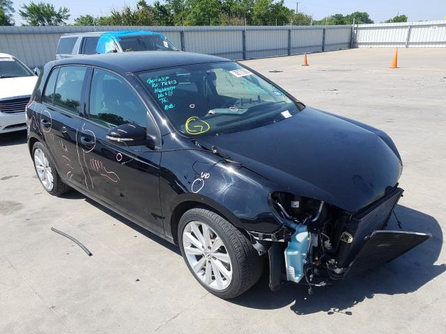 Volkswagen Golf salvage cars for sale: 2014 Volkswagen Golf