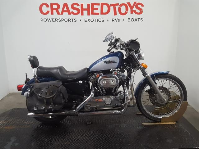 Harley-Davidson XL1200 C salvage cars for sale: 1999 Harley-Davidson XL1200 C