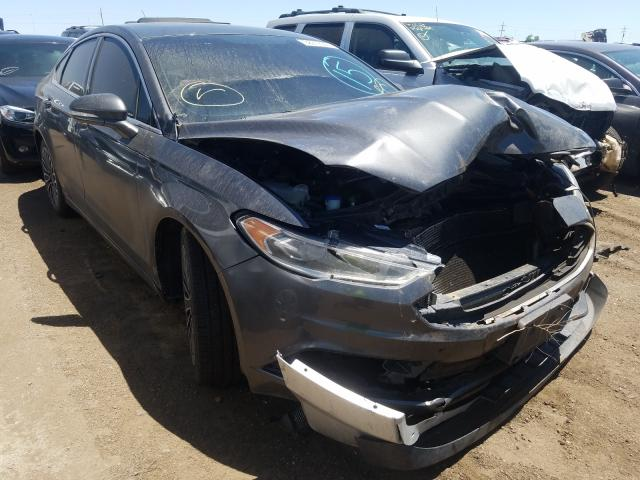 Ford Fusion SE salvage cars for sale: 2017 Ford Fusion SE