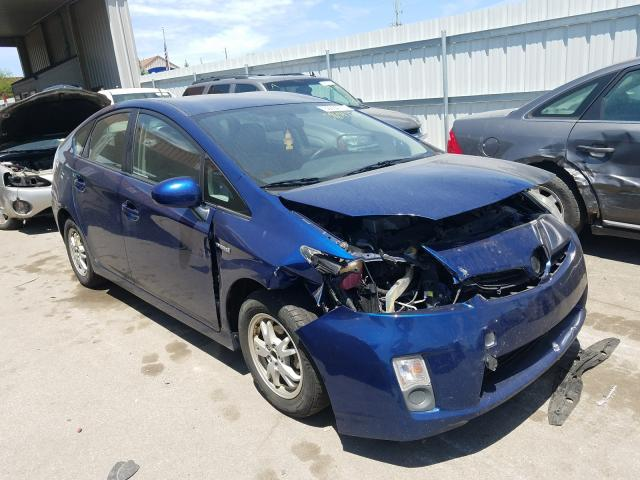 Salvage cars for sale from Copart Fort Wayne, IN: 2010 Toyota Prius