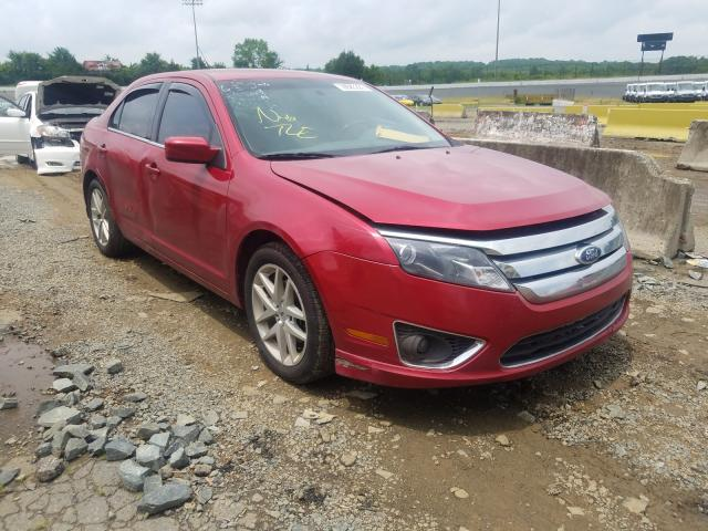 Salvage cars for sale from Copart Concord, NC: 2012 Ford Fusion SEL