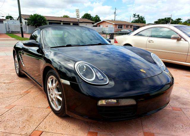 Porsche salvage cars for sale: 2005 Porsche Boxster