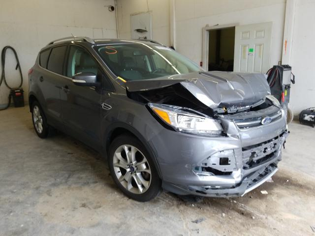 Salvage cars for sale from Copart Madisonville, TN: 2014 Ford Escape Titanium