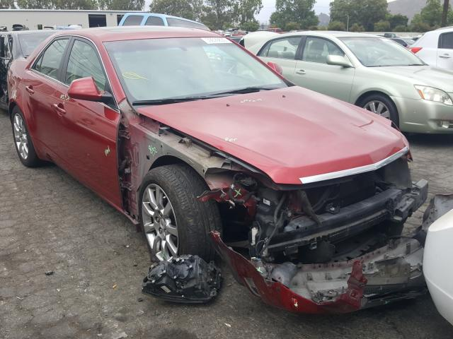 Salvage cars for sale from Copart Colton, CA: 2008 Cadillac CTS HI FEA