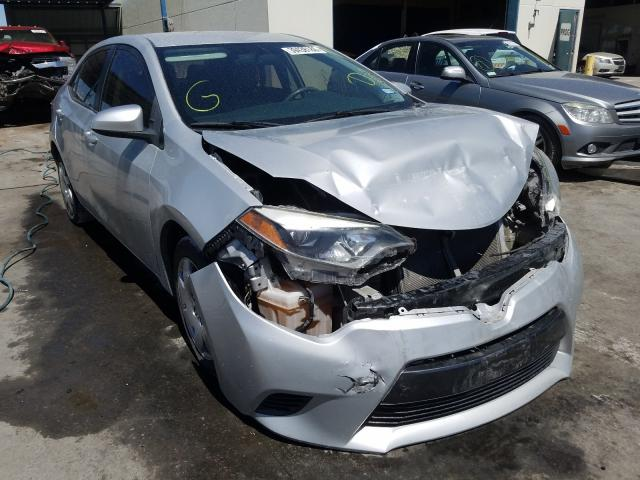 Salvage cars for sale from Copart Anthony, TX: 2015 Toyota Corolla L