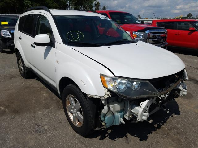Salvage cars for sale from Copart Dunn, NC: 2007 Mitsubishi Outlander